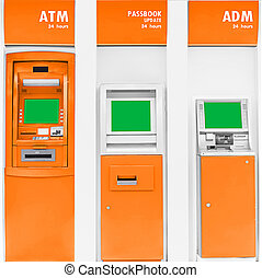 Automatic banking service.