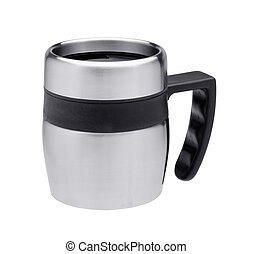 thermos mug isolated