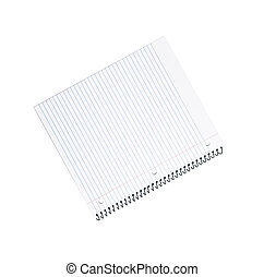 Spiral bound note pad