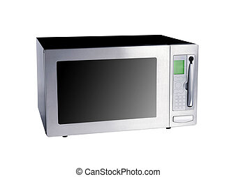 microwave oven isolated on white