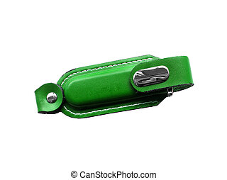 green cover for usb flash
