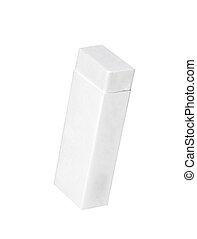 eraser on a white background