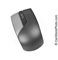 Computer mouse isolated on the white