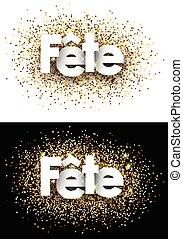 Party paper background - Party paper background with shining...