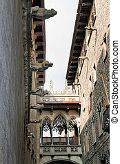 Spain - Barcelona - Old Town - Barri Gotic