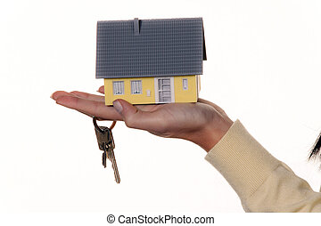 Key and property after buying a house