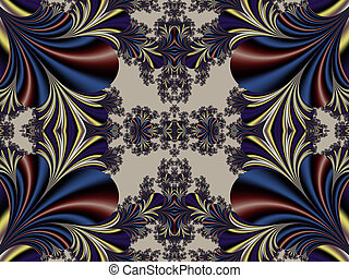 Fabulous symmetrical background Magical Satin You can use it...