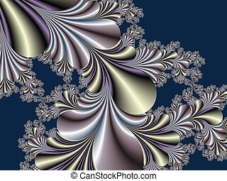Fabulous fractal background. Collection - Magical Satin. You...