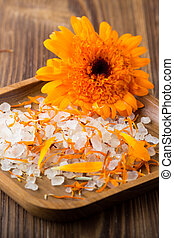 Calendula homeopathic - Homeopathic medicine, calendula dry...