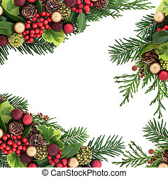 Decorative Christmas Border - Decorative christmas border...
