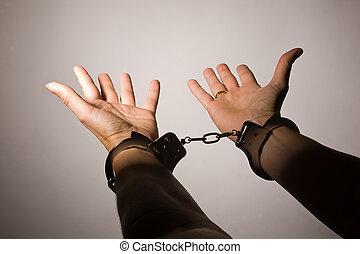 Handcuffs - .