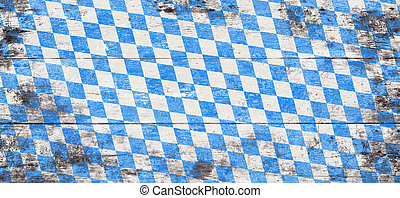 Oktoberfest background with blue and white rhombus pattern....