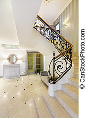 Immerse yourself in luxury after entering this hall - Very...