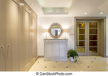 Luxurious anteroom for an upper-class family - Luxurious and...