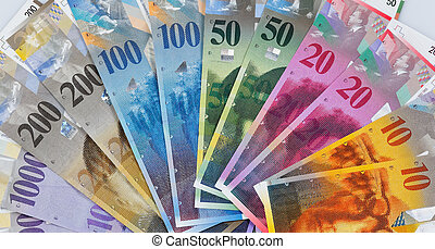Swiss francs and tablets - Tablets and Swiss franc