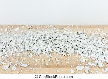 White siemens scrap. - White siemens scrap on the laminate...