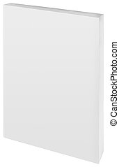 Paper Back Book Cutout - Empty White Paper Back Book Cover...