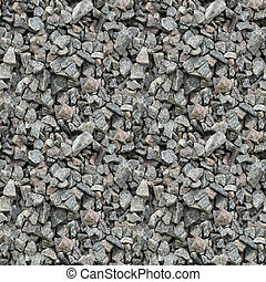 Seamless pattern texture of gravel
