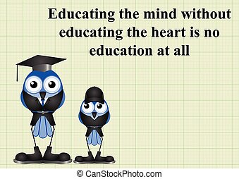 Educating the mind and heart - Educating the mind and the...