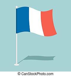 Flag of France Official national symbol national symbol of...