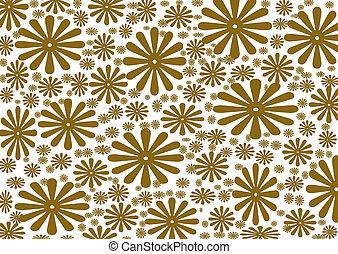 vintage floral background , texture - vintage floral...