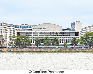 Royal Festival Hall, London HDR