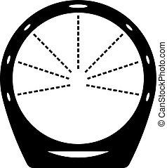 Circular loop shower