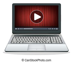 laptop with multimedia