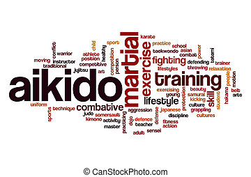 Aikido word cloud concept - Aikido word cloud