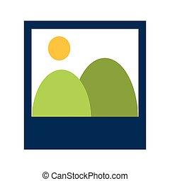 instant photo icon