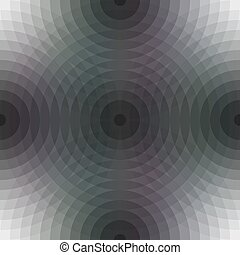 Seamless pattern background with circular shapes