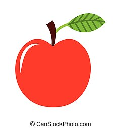 apple fruit fresh icon vector illustration design
