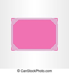 certificate vector border frame design