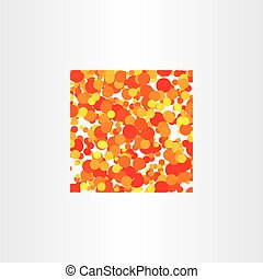 red yellow circles vector background square - red yellow...