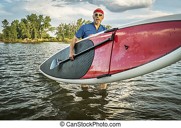 stand up paddling in Colorado