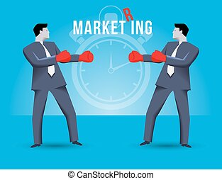 Market ring business concept