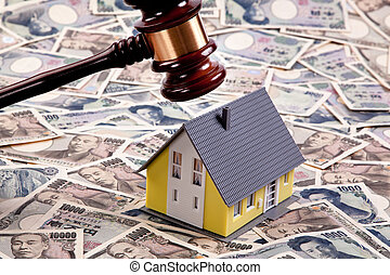 Housing crisis in yen financing