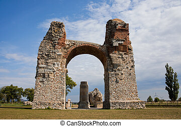 Heathen of the ancient Roman settlement Carnuntum - Heathen...