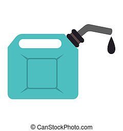 fuel oil can icon vector illustration - fuel oil can,...