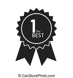 award ribbon 1 the best icon vector graphic - award ribbon...