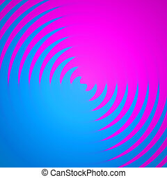 Twirling Colors Background - An abstract backdrop with pink...