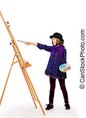 niña, artista