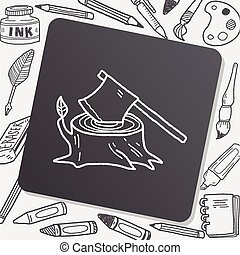 ax doodle
