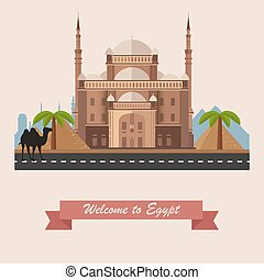 Egypt - Cairo Citadel in Egypt.