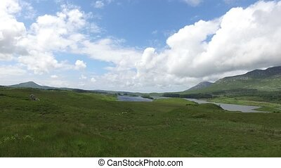 view to lake or river at connemara in ireland 30 - nature...