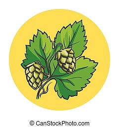 hop branch illustration