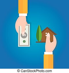 buy sell home house property price hand transaction