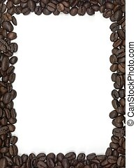 Coffee Beans - Coffee beans in the shape of a frame