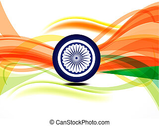 abstract independence daybackground
