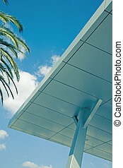 architectural feature modern corporate building